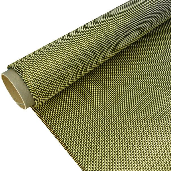 R&G Hybridgewebe Kohlefaser Aramidfaser
